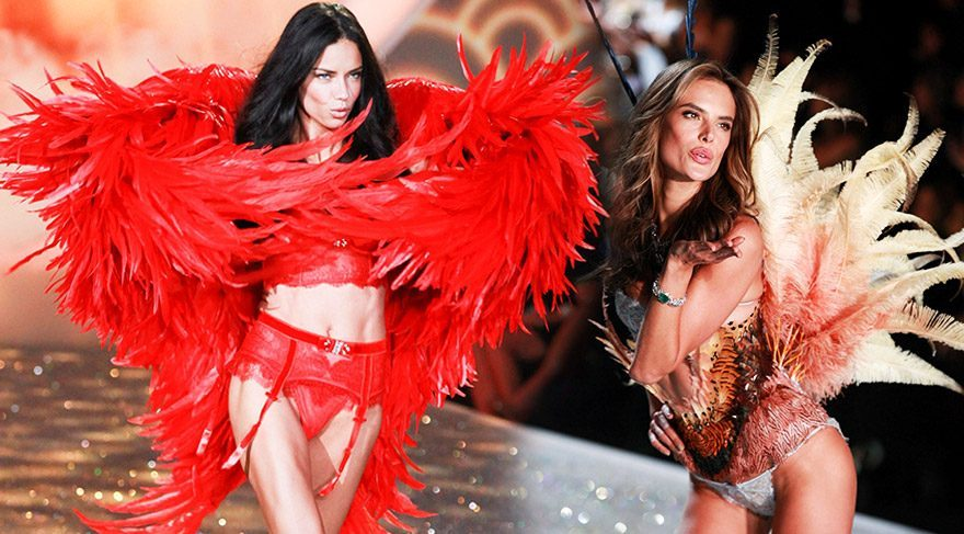 Victoria's Secret defilesi Paris'te
