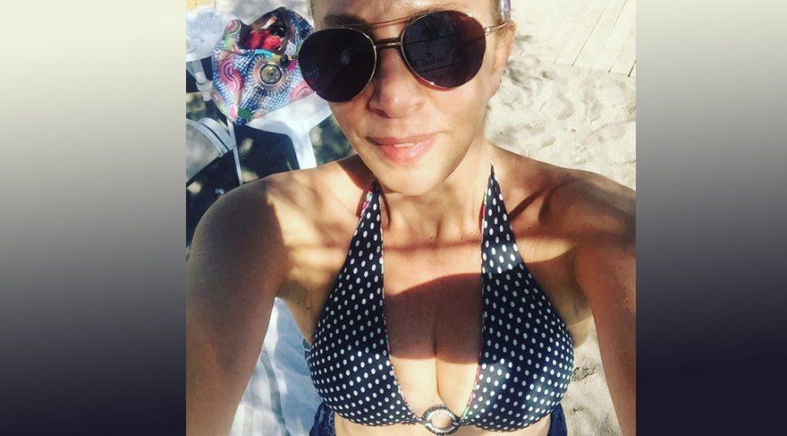 Sertab Erener'den ekim selfiesi