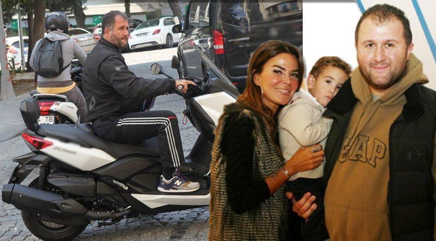 Sinan Serter motosikletiyle görüntülendi