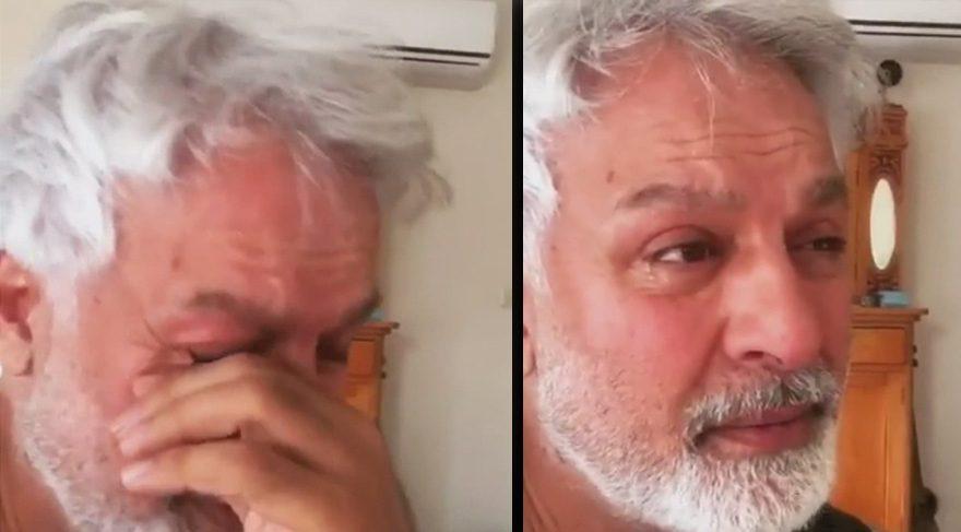 Talat Bulut'un gözyaşları