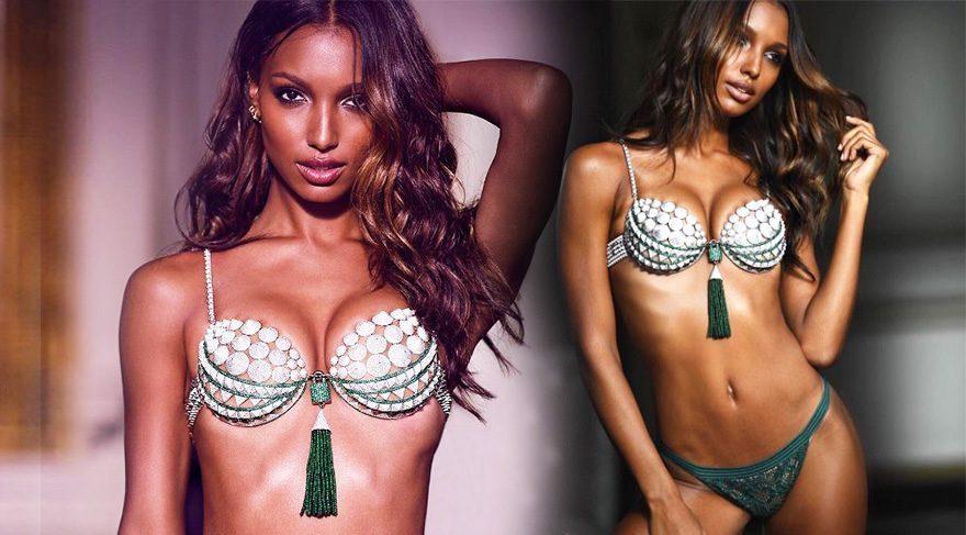 Victoria's Secret'ın 3 milyon dolarlık sütyeni görücüye çıktı