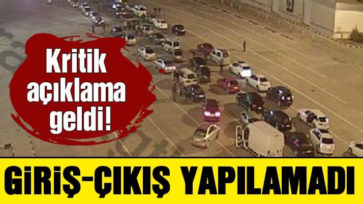 POLNET durunca Atatürk Havalimanı'nda kuyruklar oluştu