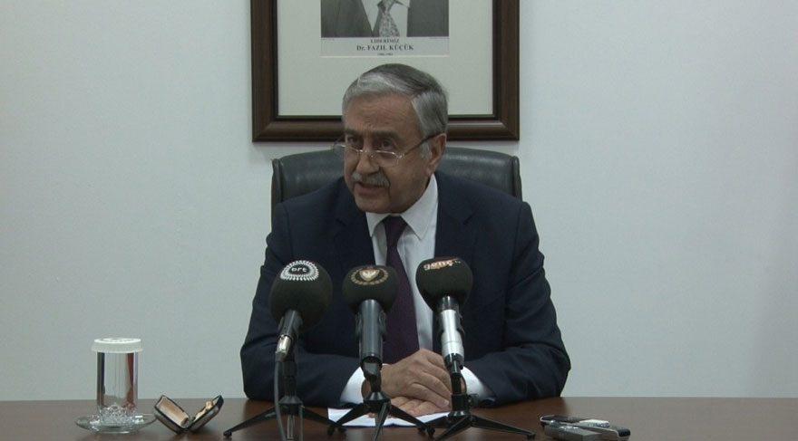 KKTC Cumhurbaşkanı Akıncı: Böyle bir müzakere süreci olmaz