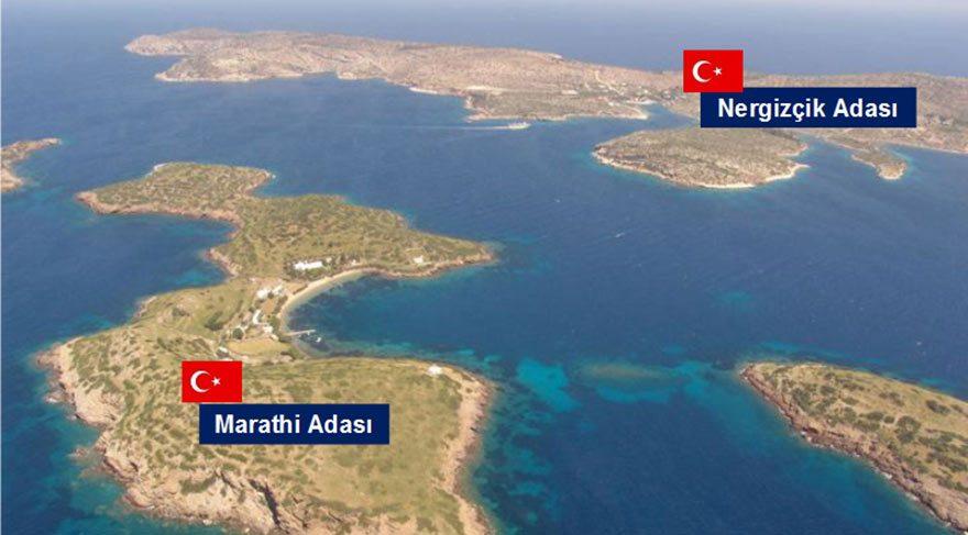 Ege'de Yunan işgalinde olan adalarımızın sayısı 18'e çıktı