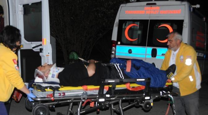 Cezaevi firarisi 3'üncü kat penceresinden çarşafla inmek isterken düşüp yaralandı