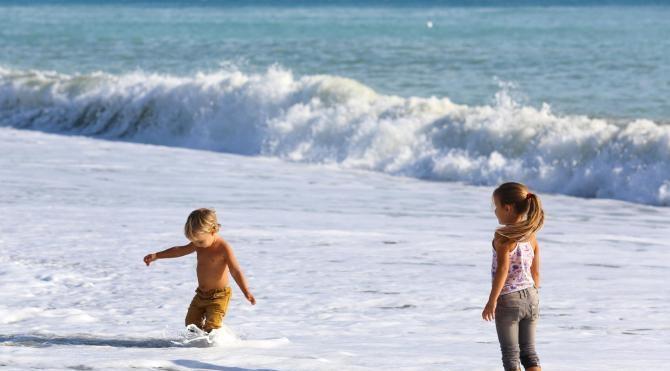 Antalya'da Konyaaltı plajı şenlendi