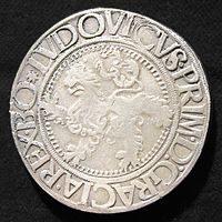 """1525 yılına ait bir Çek """"Thaller'i"""
