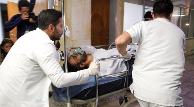 FOTO: REUTERS/ Futbolcu Alan Luciano Ruschel hastanede tedavi altına alındı.