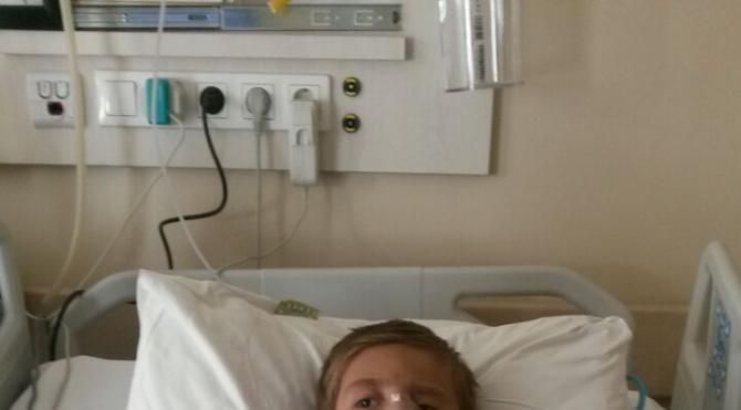 Minik Yusuf 4 yılda 5 kez ameliyat oldu