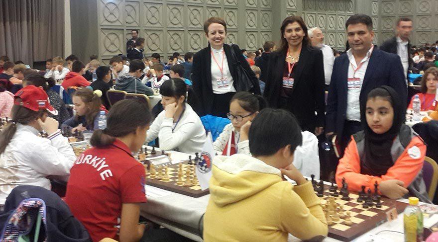Batum'daki dünya şampiyonasına 66 ülkeden sporcular katıldı.