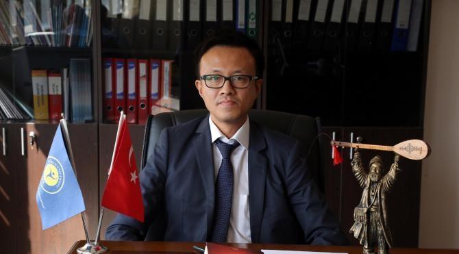 AlevilikBektaşilik Uygulama ve Araştırma Merkezi'nin Japon müdürü
