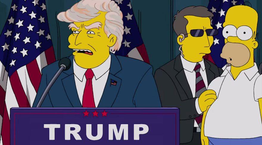 'The Simpsons'ın geleceği tahmin ettiği' söylentisi yalan çıktı