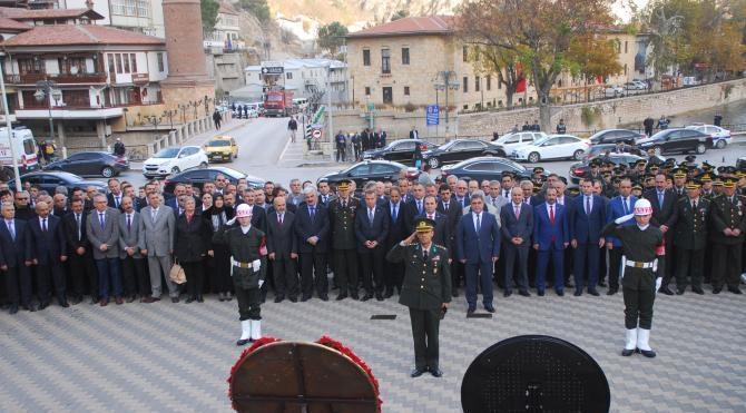 Atatürk Amasya'da anıldı