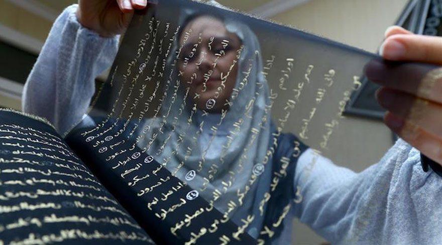 Azeri sanatçıdan el yazması Kuran-ı Kerim