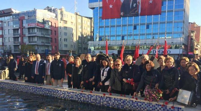 Atatürk Uşak'ta törenle anıldı