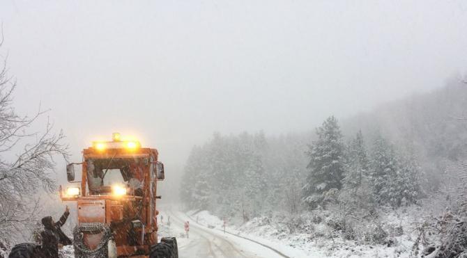 Sinop'ta kar etkili oldu