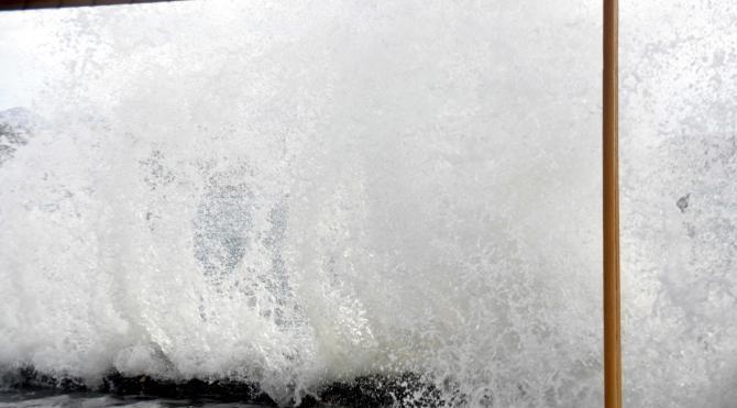Bodrum'da lodos etkili oldu