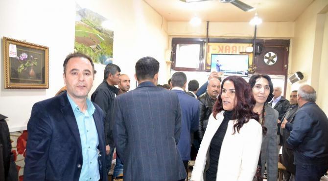 Siirt'te HDP milletvekilleri esnafları ziyaret etti