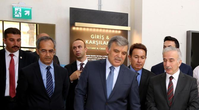 'Abdullah Gül Müzesi'ni, Erdoğan ve Gül birlikte açacak