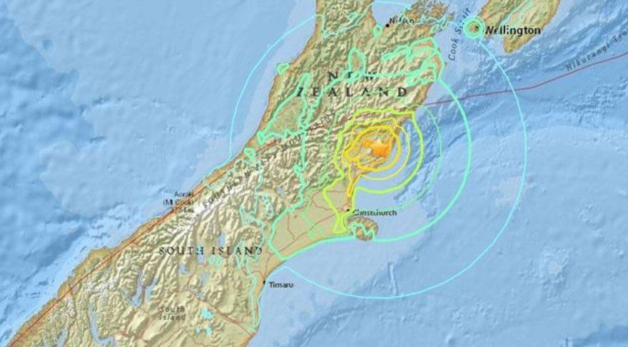 Son dakika... Yeni Zelanda'da çok büyük deprem