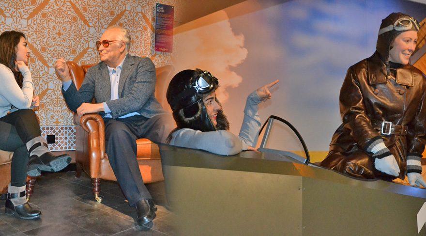 Madame Tussauds Müzesi'nde sıradışı yolculuk!