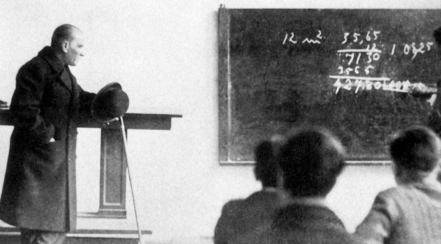 Atatürk'ün öğretmenler için söylediği sözler