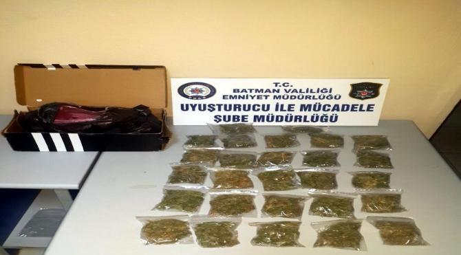 Baklava dilimine gizlenen uyuşturucu polisi de şaşırttı