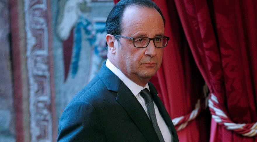 Fransa'da Cumhurbaşkanı Hollande'dan Trump'a buz gibi kutlama
