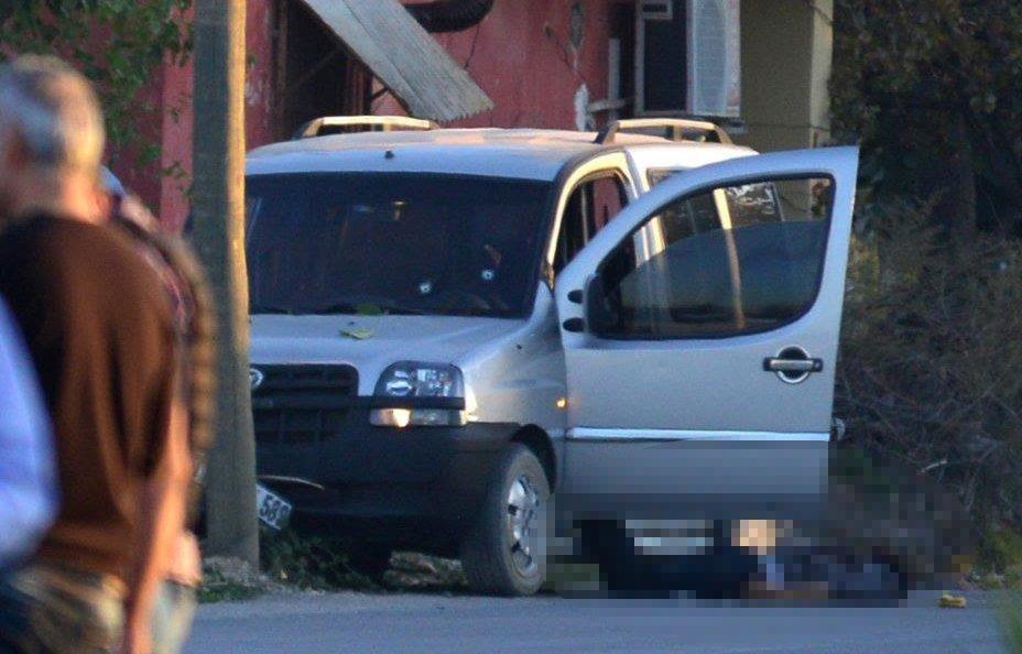 FOTO:SÖZCÜ - Terörist vurularak etkrisiz hale getirilmişti.