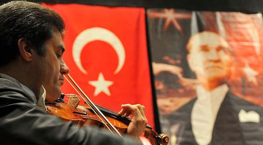 Çukurova Devlet Senfoni Orkestrası'ndan Atatürk'ü Anma Konseri