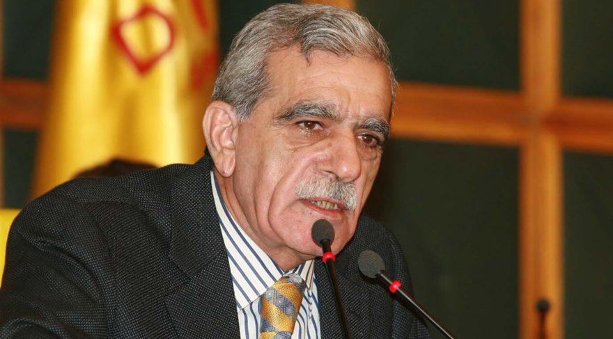 FOTO:İHA/Arşiv - Mardin Büyükşehir Belediye Başkanı Ahmet Türk de görevinden alındı.