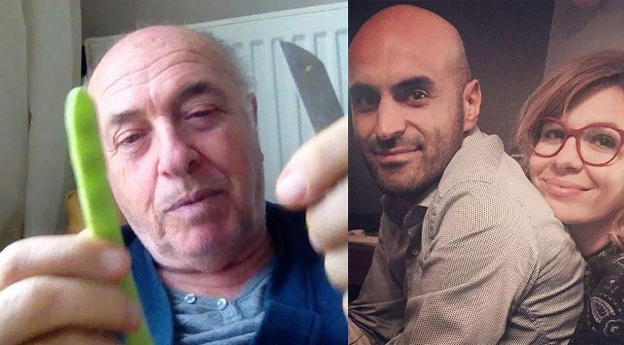 Aylin Kontante babasının videosunu paylaştı, bıçaklı video damat Alper Kul'a gönderme olarak yorumlandı