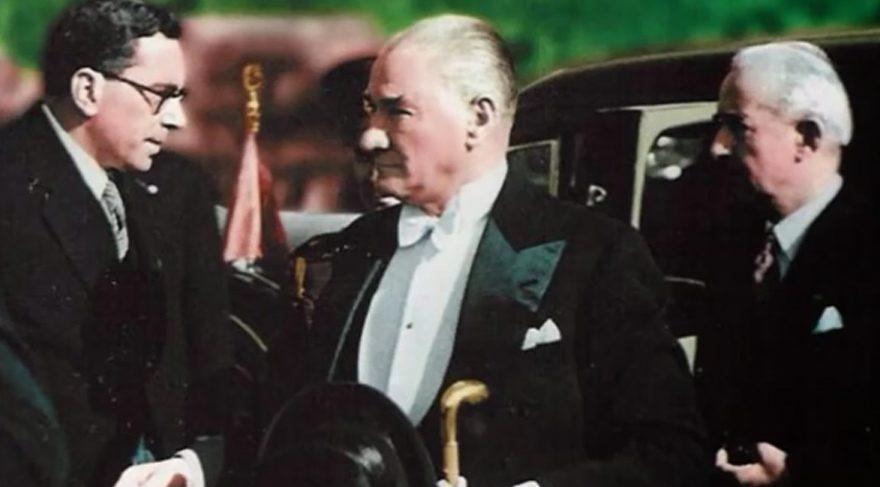 Cihan Ünal 'Büyük Atatürk Destanı'nı seslendirdi