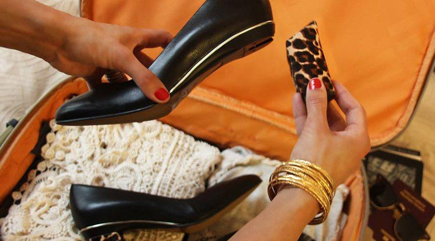 Kadınlara 'sürprizli ayakkabı'