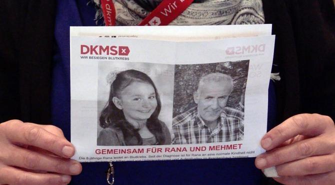 Köln'de Türk lösemi hastaları için kampanya