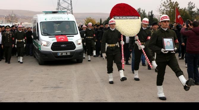 Şehit Uzman Çavuş Özel, Gaziantep'te toprağa verildi