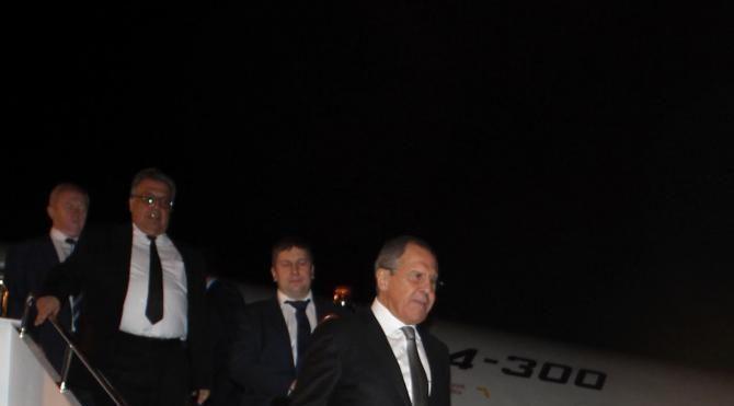 Rus Bakan Lavrov ile Çavuşoğlu Alanya'ya geldi