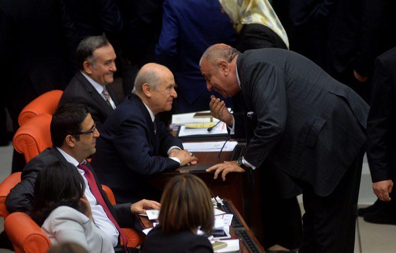 FOTO:SÖZCÜ- Tuğrul Türkeş, MHP'den istifa ederek, AKP saflarına katılmıştı.