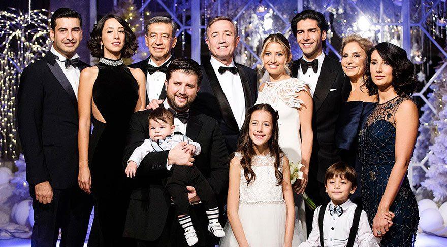 Hamdi Akın'ın kızı Pelin Akın ve Cem Baver Özalp evlendi