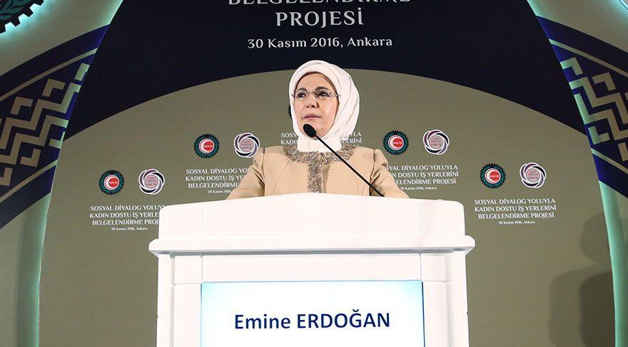 Emine Erdoğan: Kadınların emeği sömürülüyor