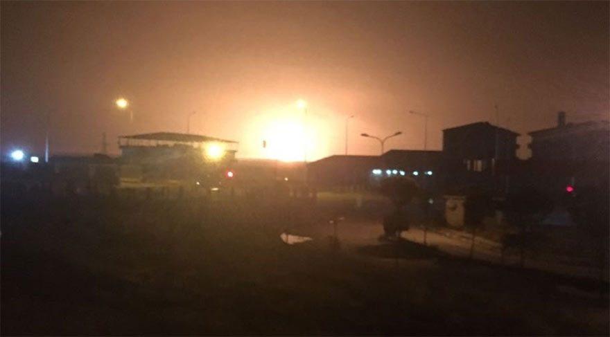 PKK'lılar doğalgaz hattına saldırdı!