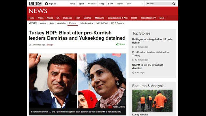 Son dakika… HDP operasyonu dünyada böyle yankılandı