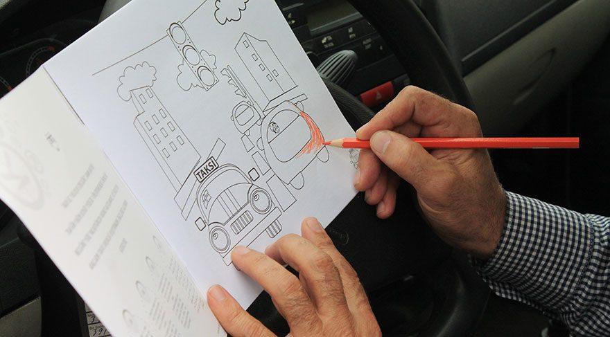 Taksilerde Boyama Kitabı Dönemi Başlıyor Sözcü Gazetesi