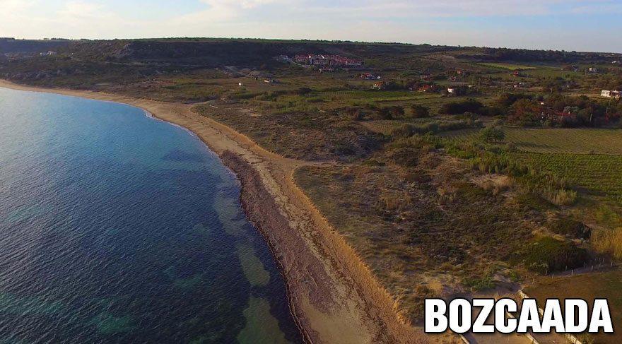 Bozcaada ve Gökçeada'nın koyları için idam fermanı