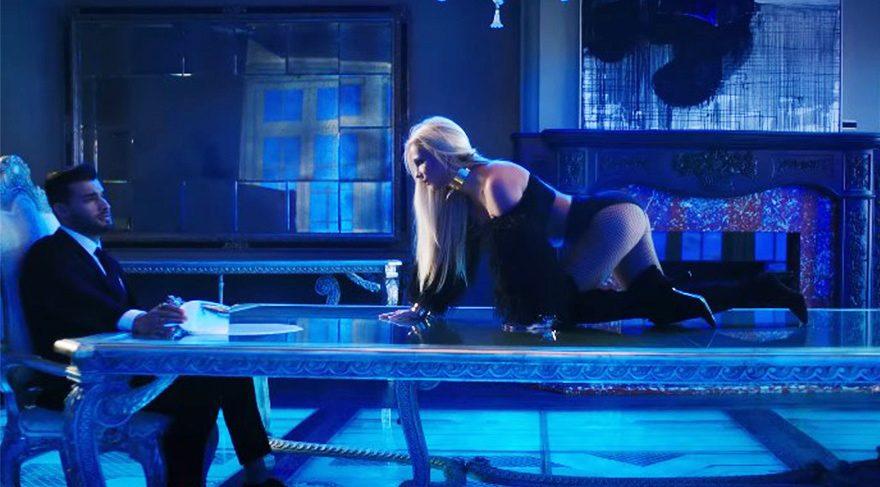 Britney Spears'dan seksi parti