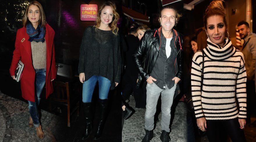 İstanbul Komedi Festivali yıldızları ağırladı