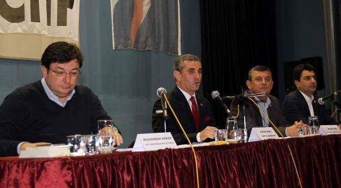 CHP'li Özel: Başkanlık sistemi ülkeye felaket getirir