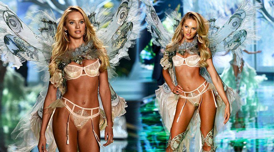 Candice Swanepoel'dan Victoria's Secret meleklerine destek