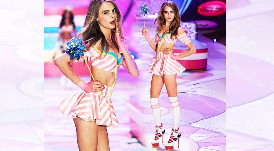 Cara Delevingne, Victoria's Secret 2016 defilesinde yürüyecek mi?