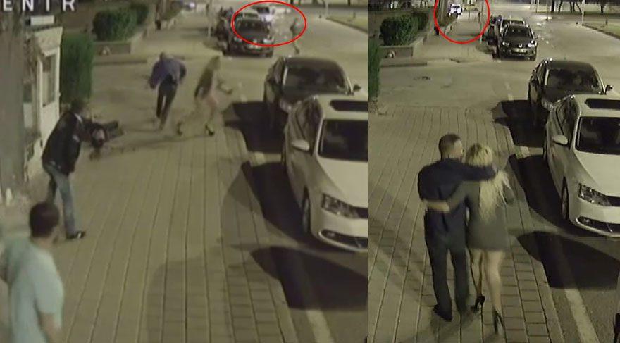 Cinayet polisin gözleri önünde işlenmiş!